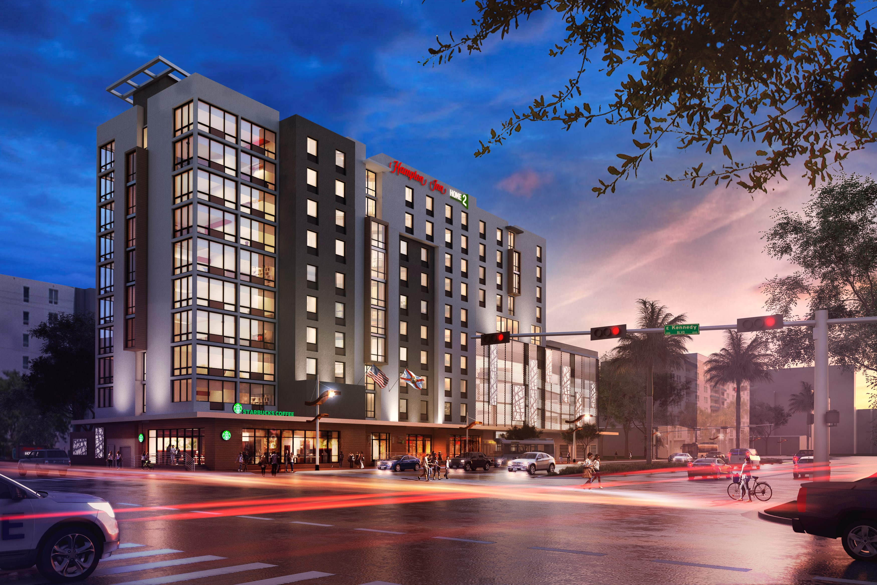 Hampton/Home2 Suites Tampa Downtown/Channel District