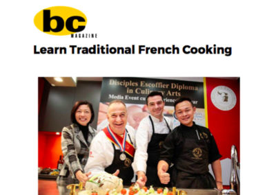 Learn Traditional French Cooking | bc magazine 12.12.2016