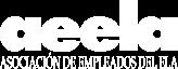 Logo AEELA en blanco
