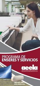 Folleto Programa de Enseres y Servicios