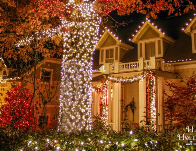 Christmas Light Installation In Eureka Springs Arkansas