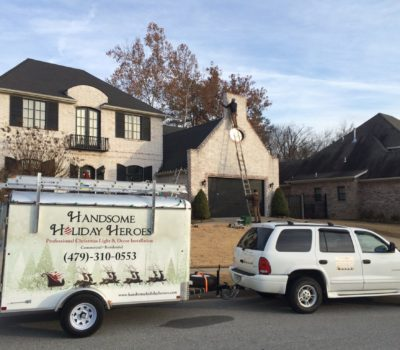 Christmas Light Decorating In Fayetteville Arkansas