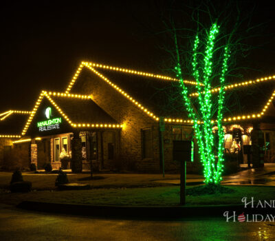 Warm White Mini Lights In Fayetteville Arkansas