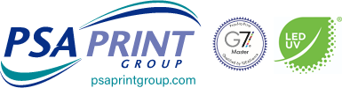 PSA Print Group – Digital & Commercial Printing Logo