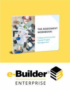 Image of the Assessment Workbook displayed under the Explore e-Builder section of the homepage