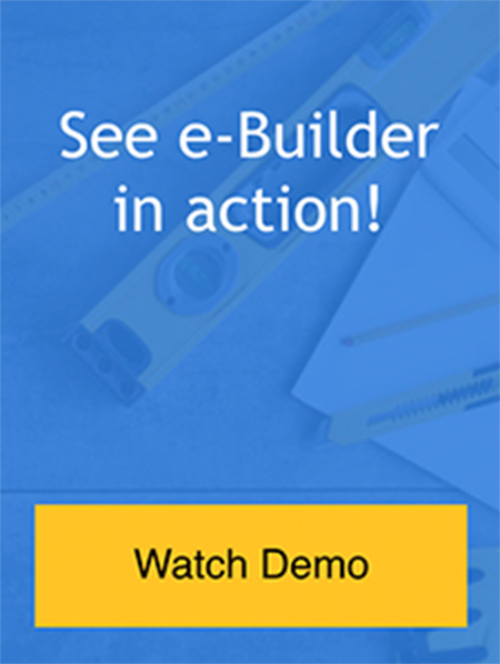 Demo: See e-Builder Enterprise in Action