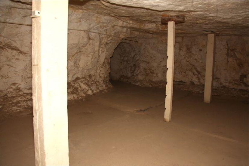 Nevada State Prison, cave, large interior