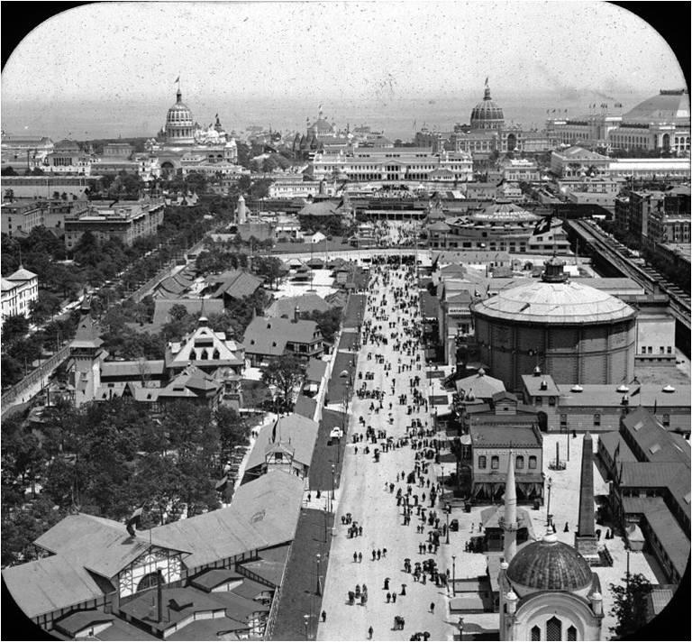 Columbian Exposition, Chicago Worlds Fair, 1893.