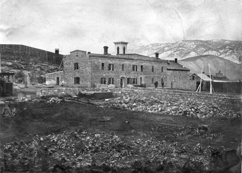 The Nevada State Prison, circa 1870