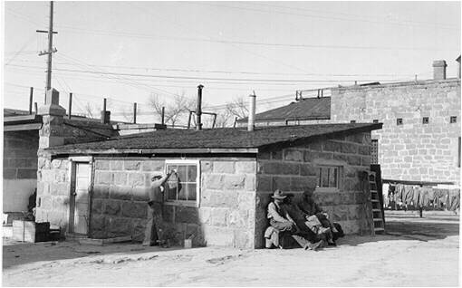 Butcher Shop/Old Gas Chamber, circa 1921