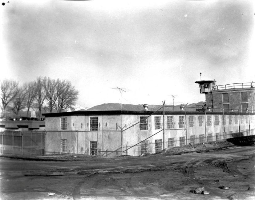 Nevada State PRison, 1961 C-Block