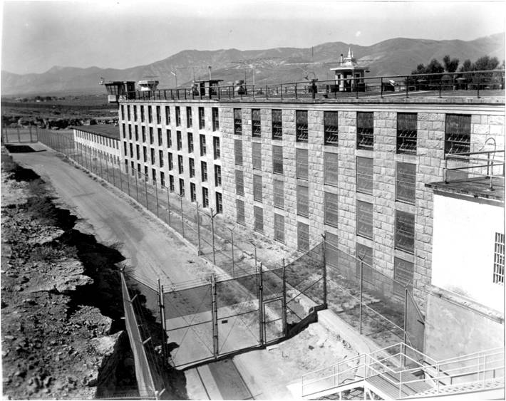 Nevada State Prison, A, B, and C-Blocks complete