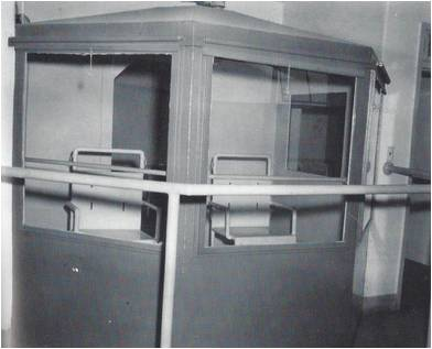 Nevada State Prison, Observation windows in gas chamber