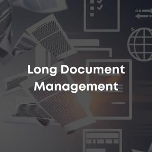 Long Document Management Course