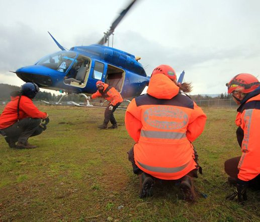Helicopter hover entrance; exit training