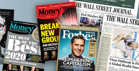 Magazine Headlines Deter Investors