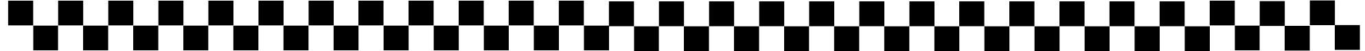 Checkerboard Banner