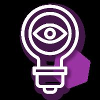 Icono de calidad de la información para diseño de proyectos sociales y monitoreo y evaluación