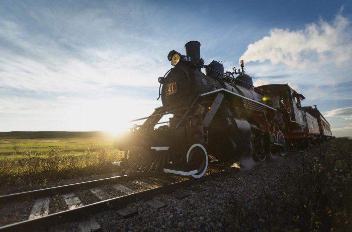 TA steam train