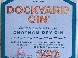 Dockyard Gin review