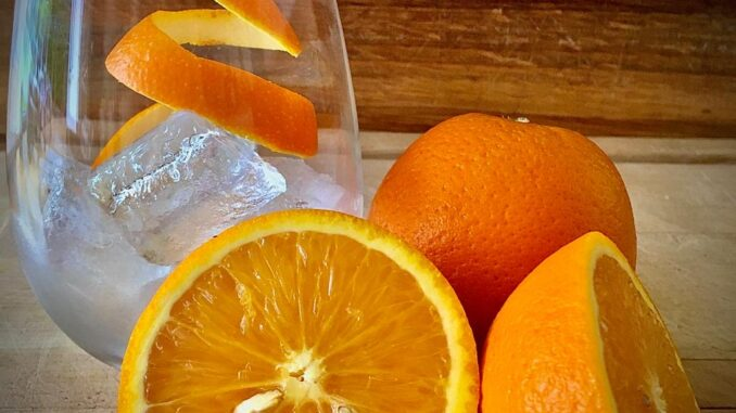 Which gin goes with orange