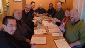 (from left) Daniel/Fritz/Sepp/Ben/Milo/Davu/Charles/Elaine/Paul