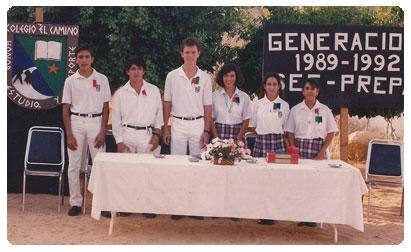 1989-1992 Generacion Colegio El Camino Cabo San Lucas