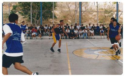 Colegio El Camino Basketball Court Los Cabos