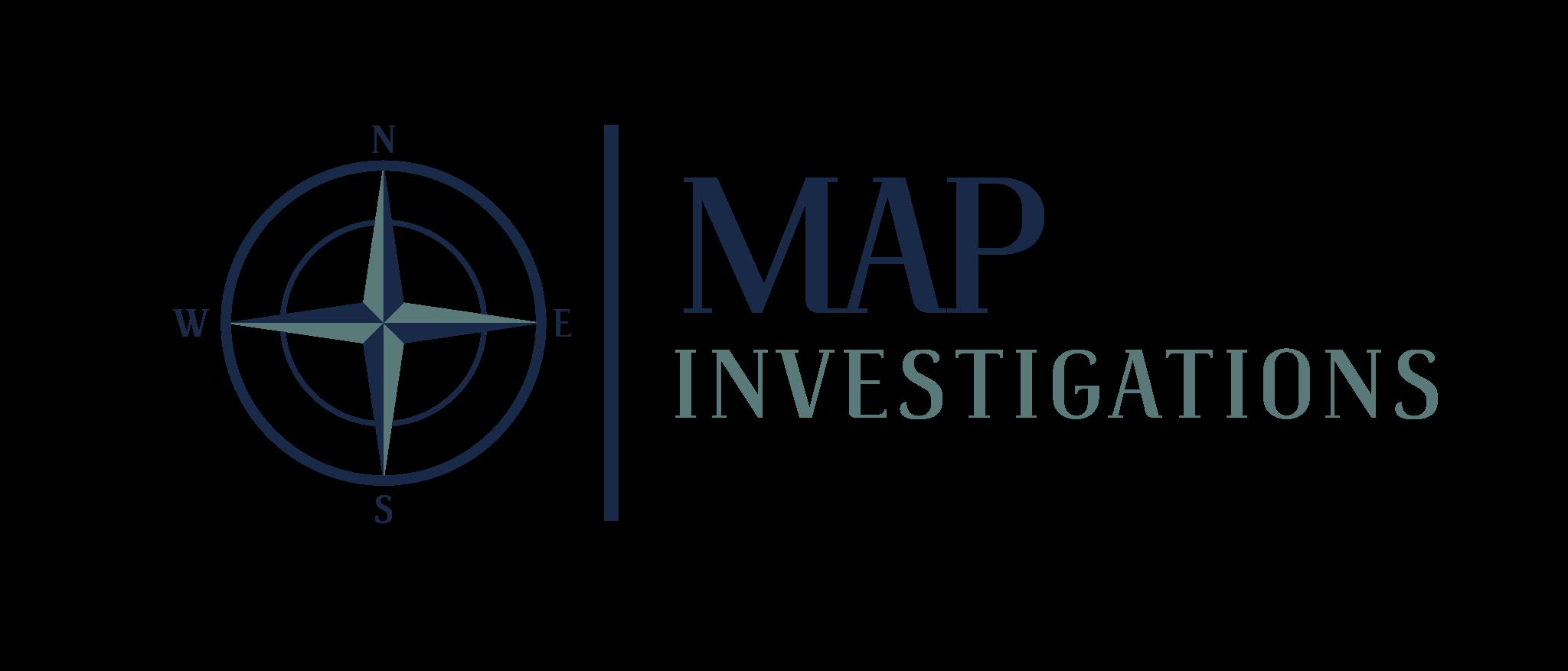 MAP Investigations Logo