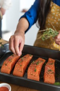 salmon for brain health
