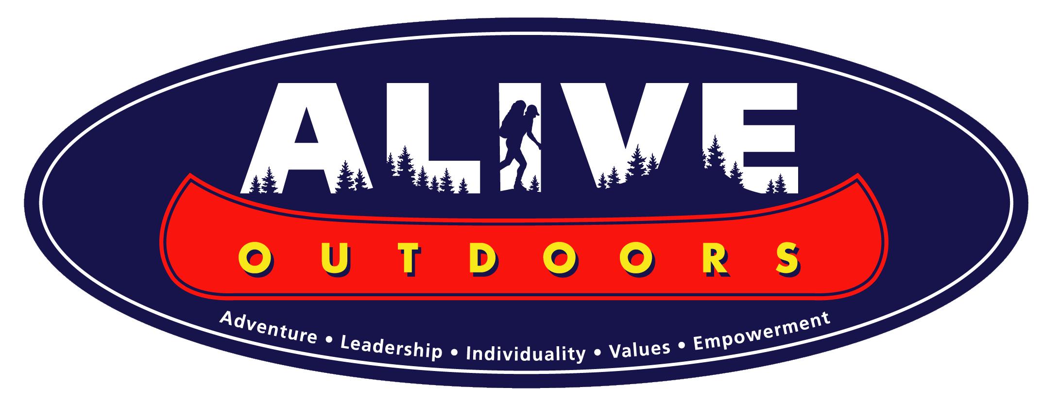 ALIVE Logo Blue Transparent Background