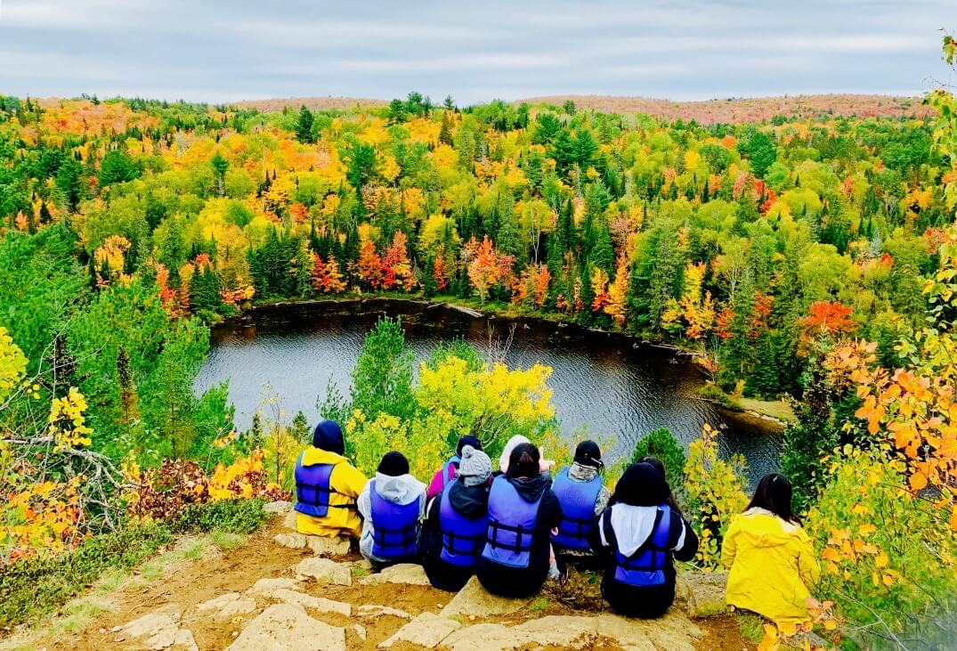 Algonquin Lookout with Group