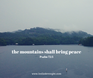 The Mountains Shall Bring Peace