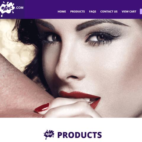Buy Wet Homepage