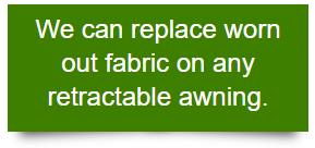 replace awning fabric