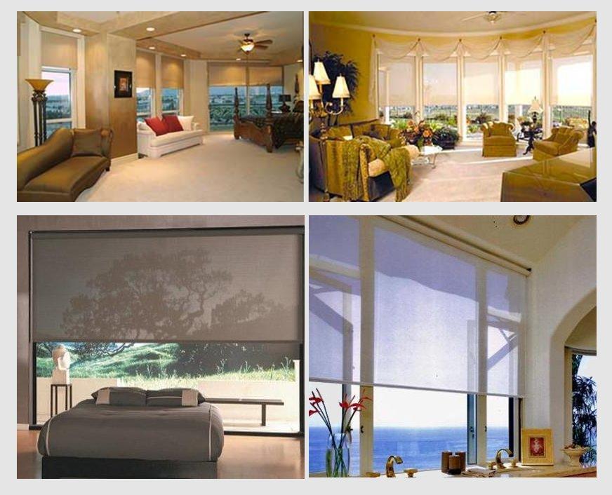 Interior Solar Shades & Screens from SunSaver Awnings