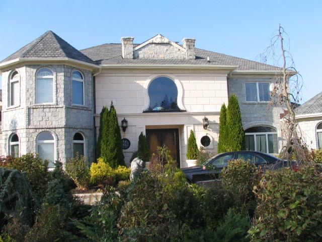 precast home veneer entrance