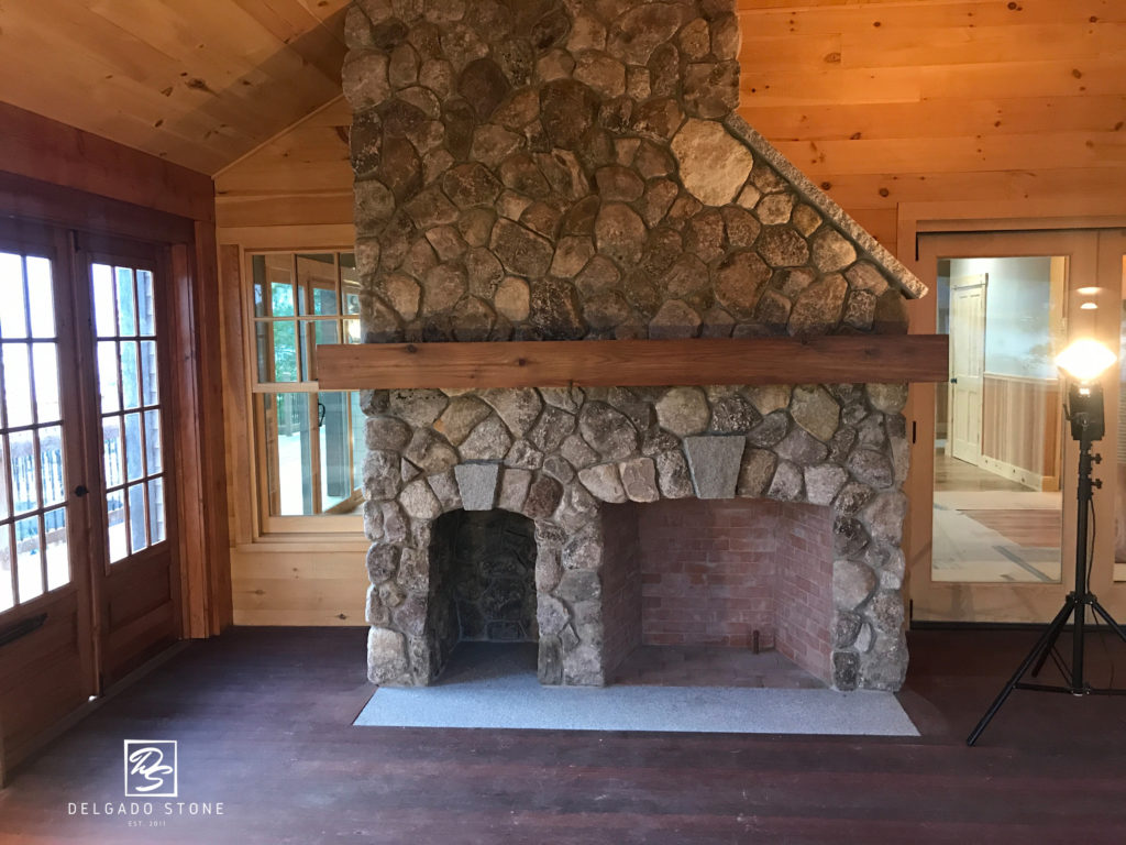 Old New England Rounds Hearth