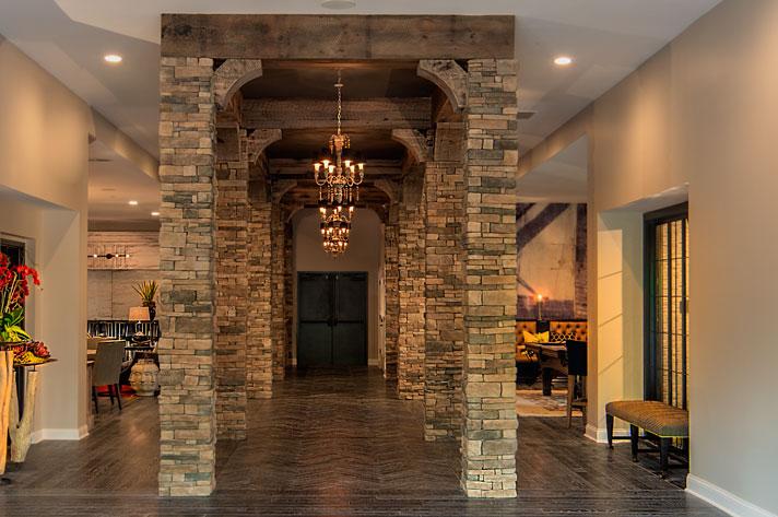 columns indoor