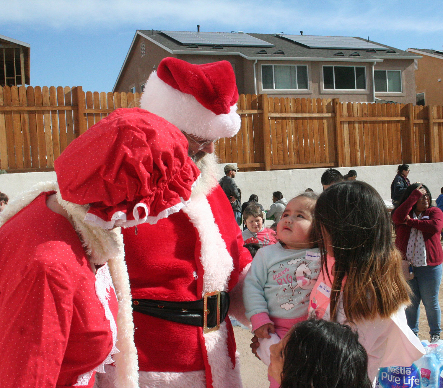 Happy Holidays with Military Families at Homes 4 Families