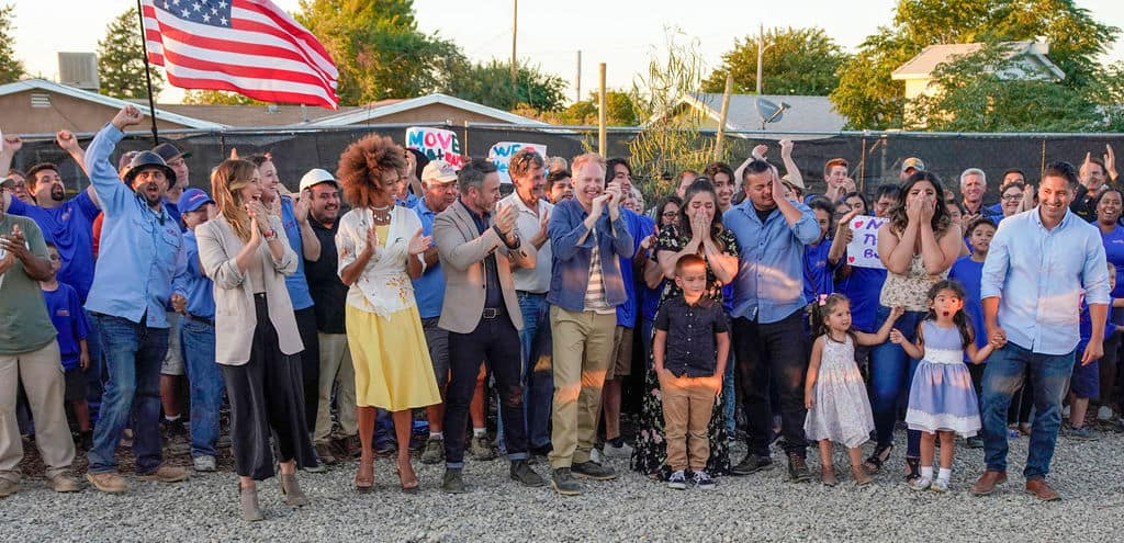 """IT'S A WRAP: VETERANS GETTING NEW HOMES ON """"EXTREME MAKEOVER: HOME EDITION"""" SHOW AIRING SUNDAY, MARCH 15"""