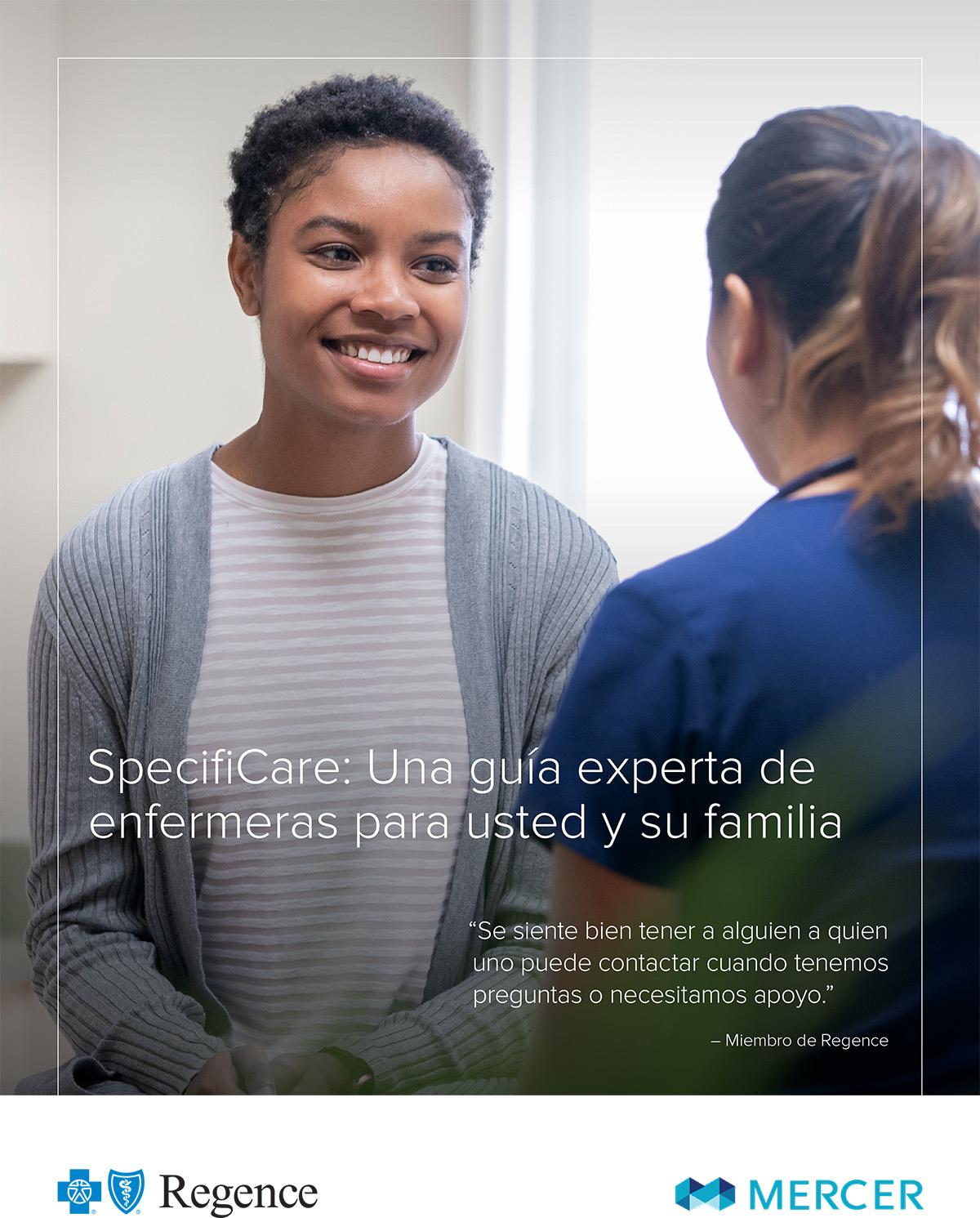 SpecifiCare: Una guía experta de enfermeras para usted y su familia
