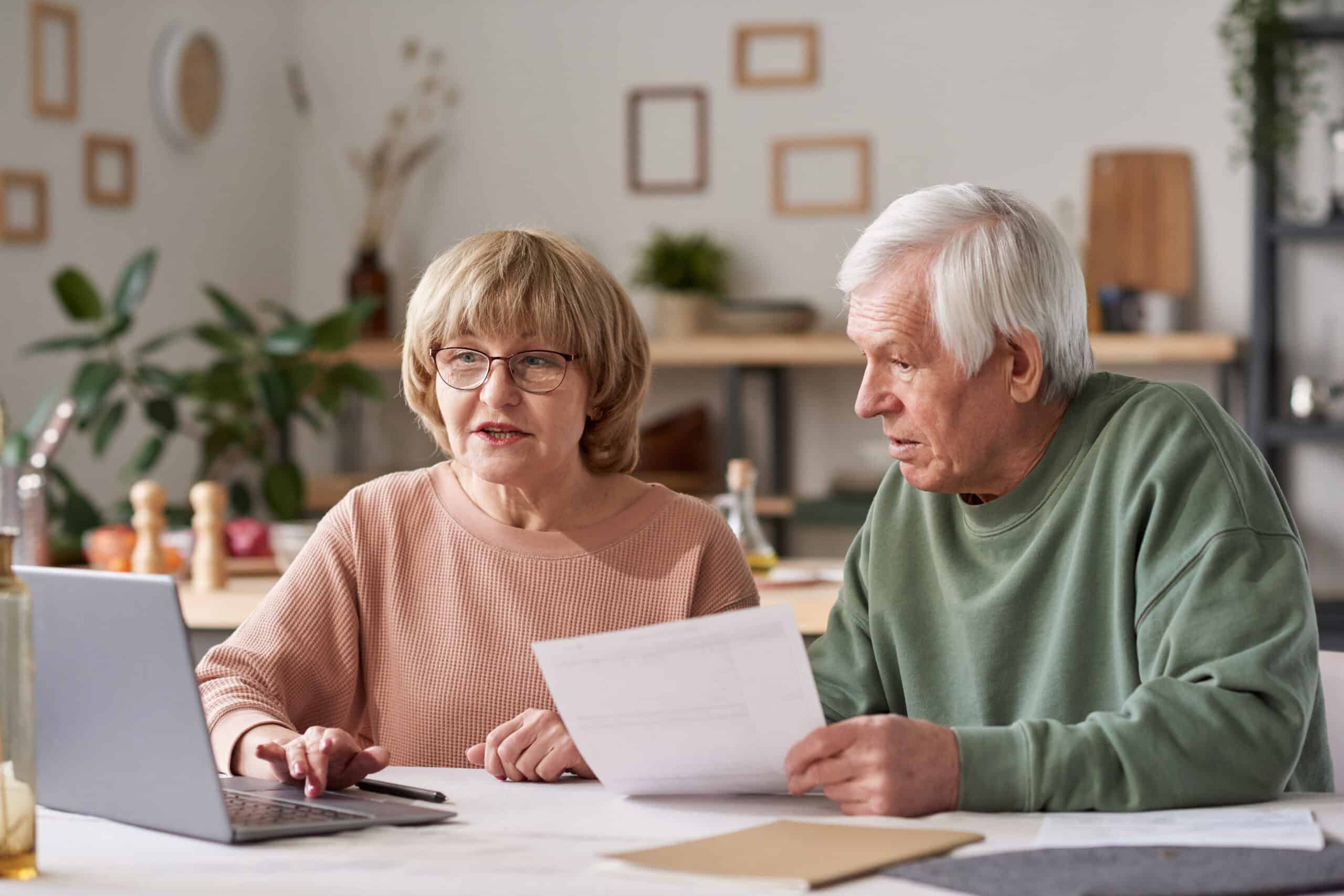 John Allan Group senior-couple-paying-for-bills-online-4FHWHQB-scaled Help for Homeowners