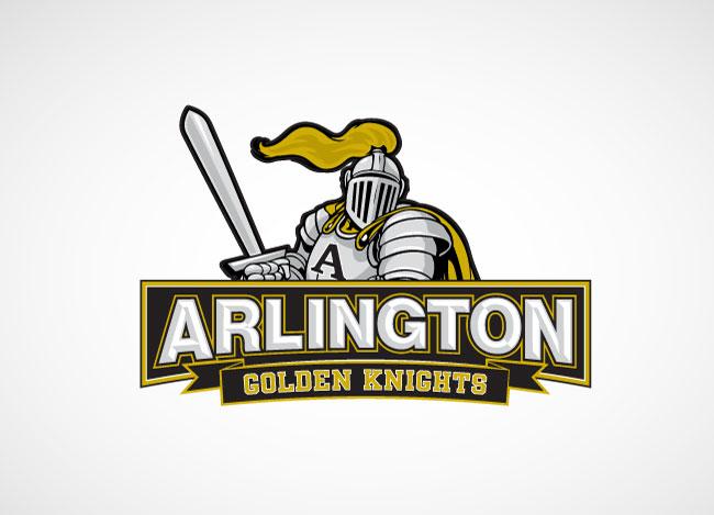Arlington Golden Knights Logo