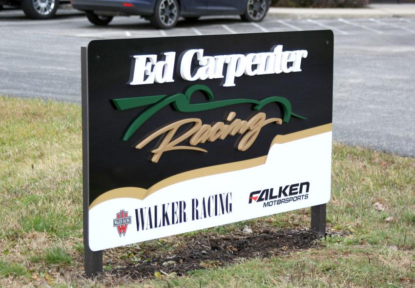 Ed Carpenter Racing Exterior Sign