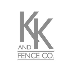 KK and Fence co. Logo