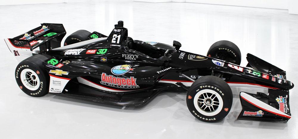Autogeek Livery Race Car Wrap