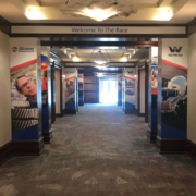 CMC Global Marriot Hallway Wrapped