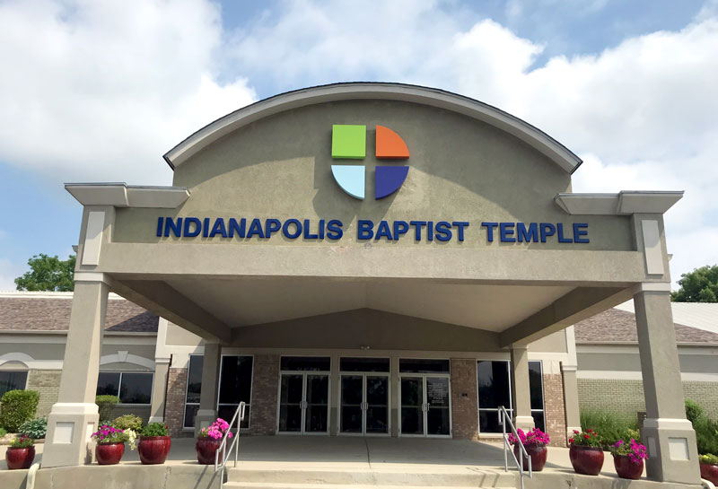 Indianapolis Baptist Temple Exterior Sign