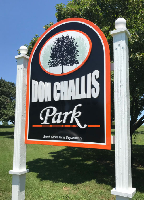 Don Challis Park Exterior Sign
